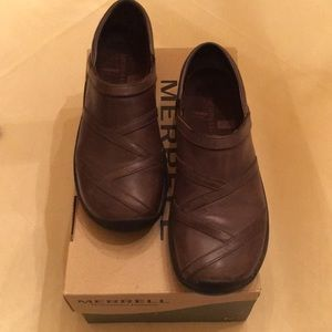 Merrell Encore Eclipse brown clogs